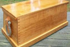 A traditional sea chest