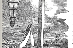Captain Kidd's body left to rot suspended over the bank of the Thames
